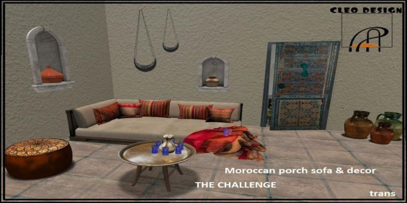 CLEO DESIGN-MOROCCAN