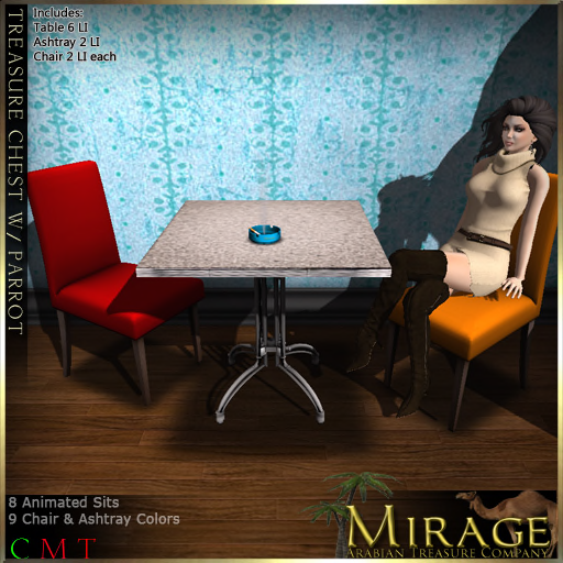 Mirage Treasure Co-Color Change Retro Set