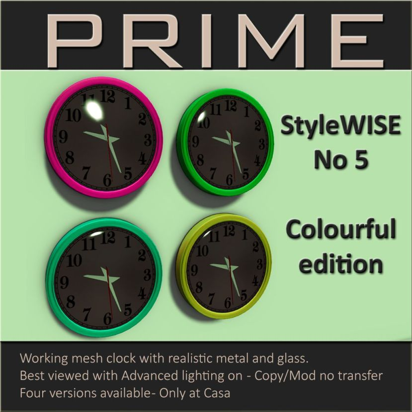 Style Wise No.5 - Colorful Edition - by PRIME